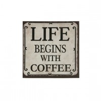 MAGNES LIFE BEGINS WITH COFFE