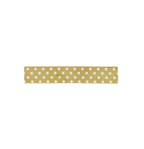 TAŚMA TAPE WASHI GOLD DOTS MADAM STOLTZ
